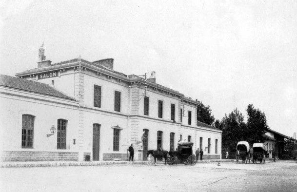 La gare de chemin de fer