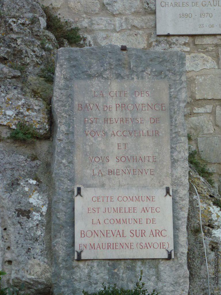 Dernière visite aux Baux-de-Provence