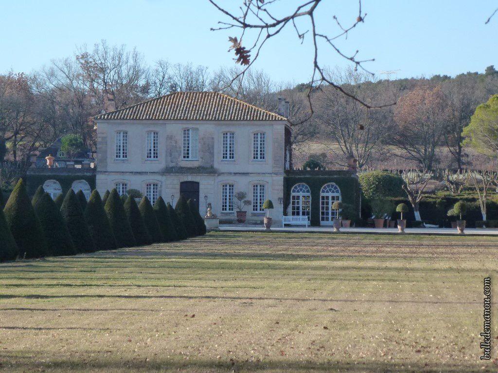 Le pavillon Victoire de Vernègues...