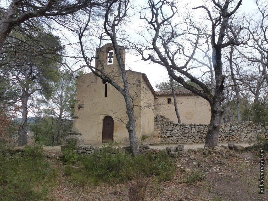 La chapelle Saint-Marcellin de Rognes