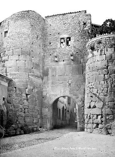 La Porte Saint-Marcel dans l'ancien temps
