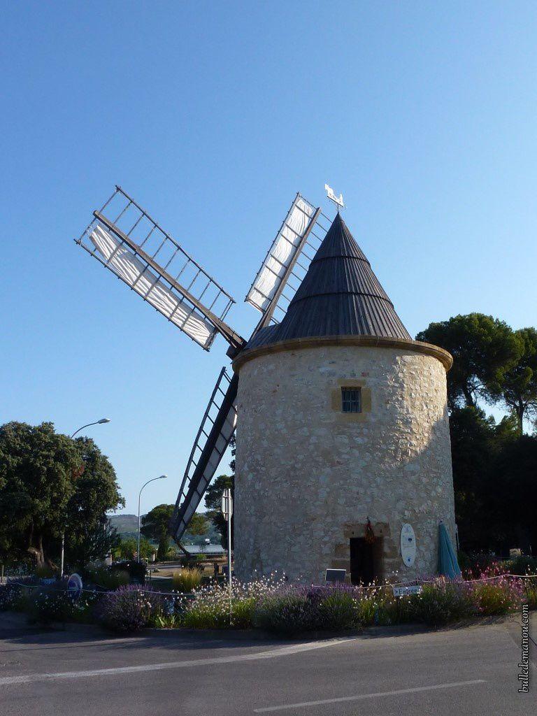 Le moulin de Bertoire datant de la fin du XVIIIe
