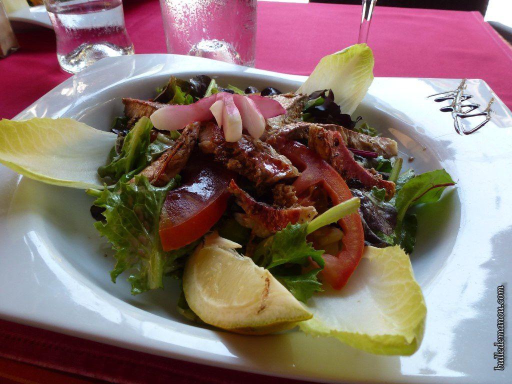 Une petite salade de rougets, ça vous tente ?