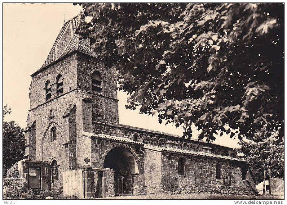L'église Saint-Jean-Baptiste (Saint-Jean-Lachalm)