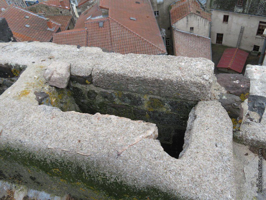 Les couleuvrines et les constructions défensives...