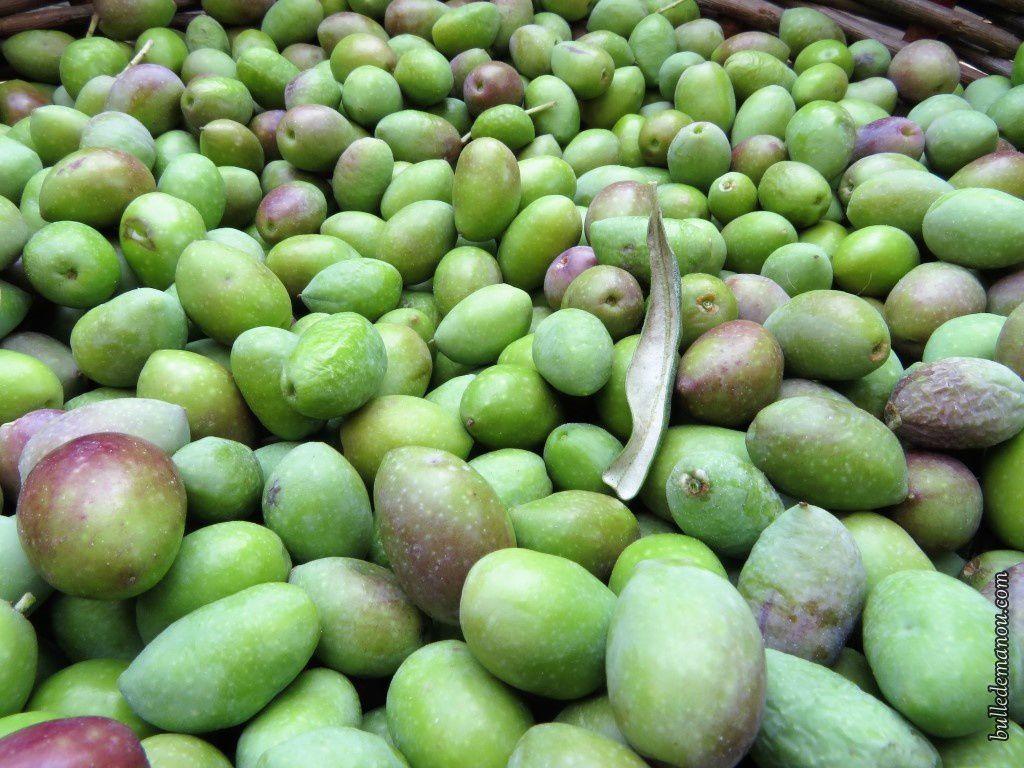 Avec les olives...