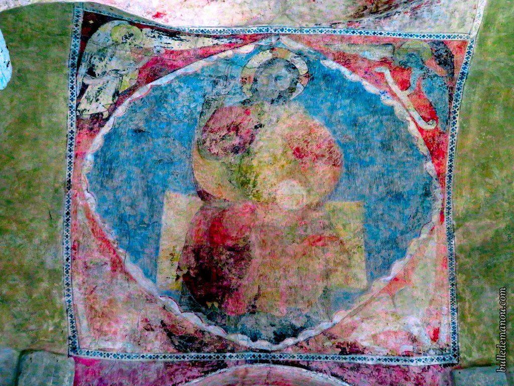 Le Christ en majesté de l'église de Prades (43)