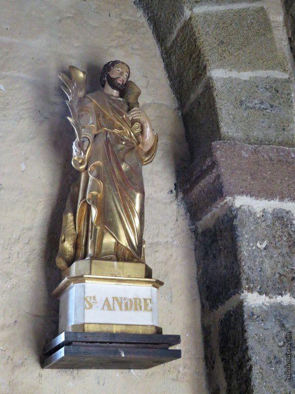 Saint-André bien sûr qui a donné son nom à l'édifice