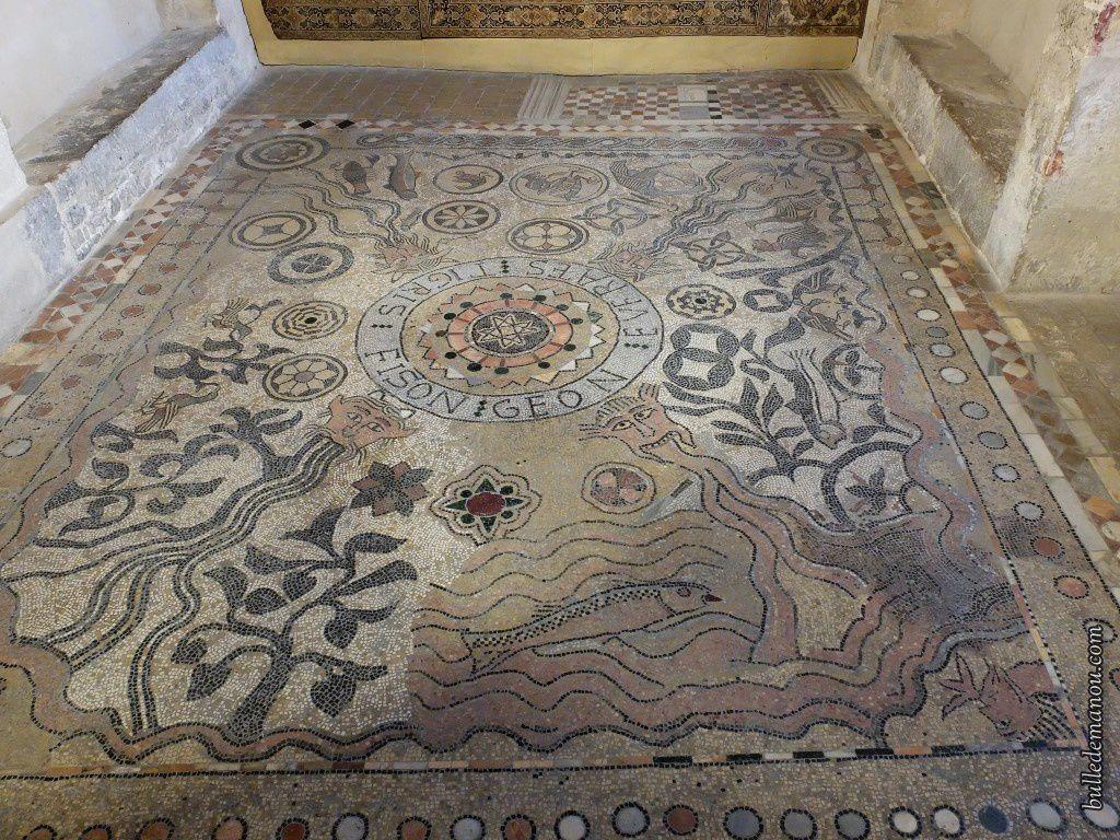 La mosaïque des Quatre fleuves du paradis (Die)