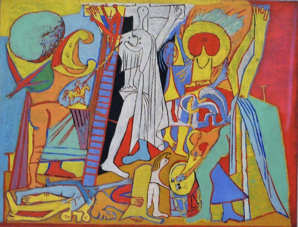 """""""La crucifixion"""", Picasso, 1932"""