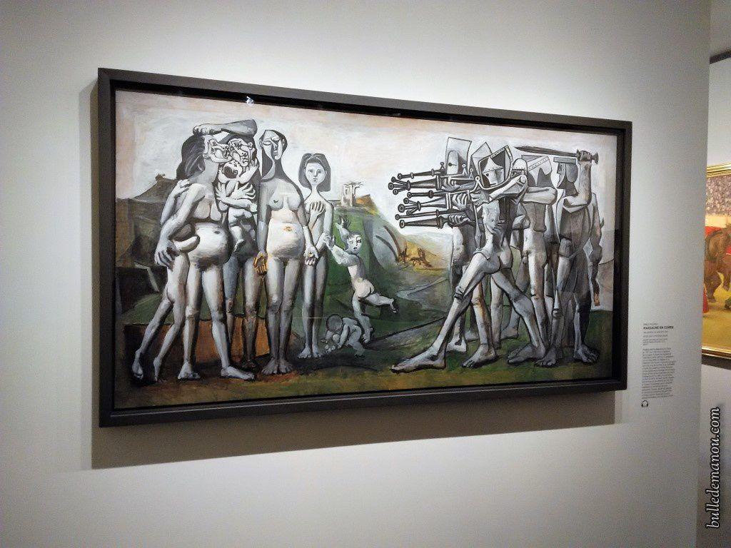 """""""Massacre en Corée"""" Pablo Picasso"""