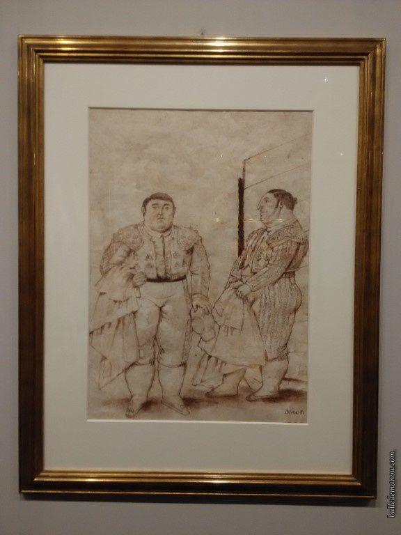 """""""Deux matadores"""" et """"Le cheval du picador""""/ Fernando Botero"""