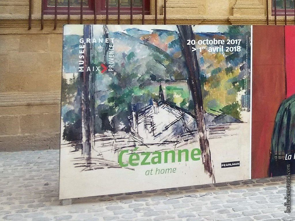 """Cézanne """"at home"""""""