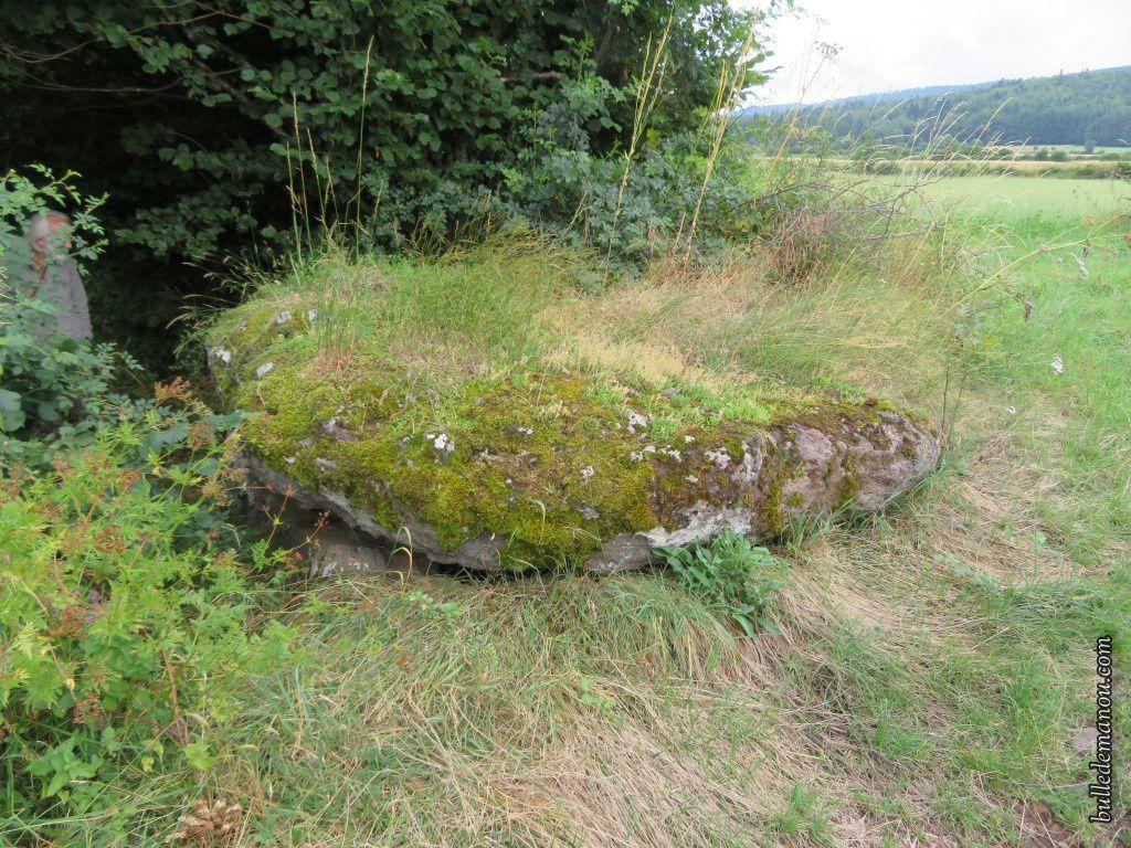 Le dolmen vu de plus près