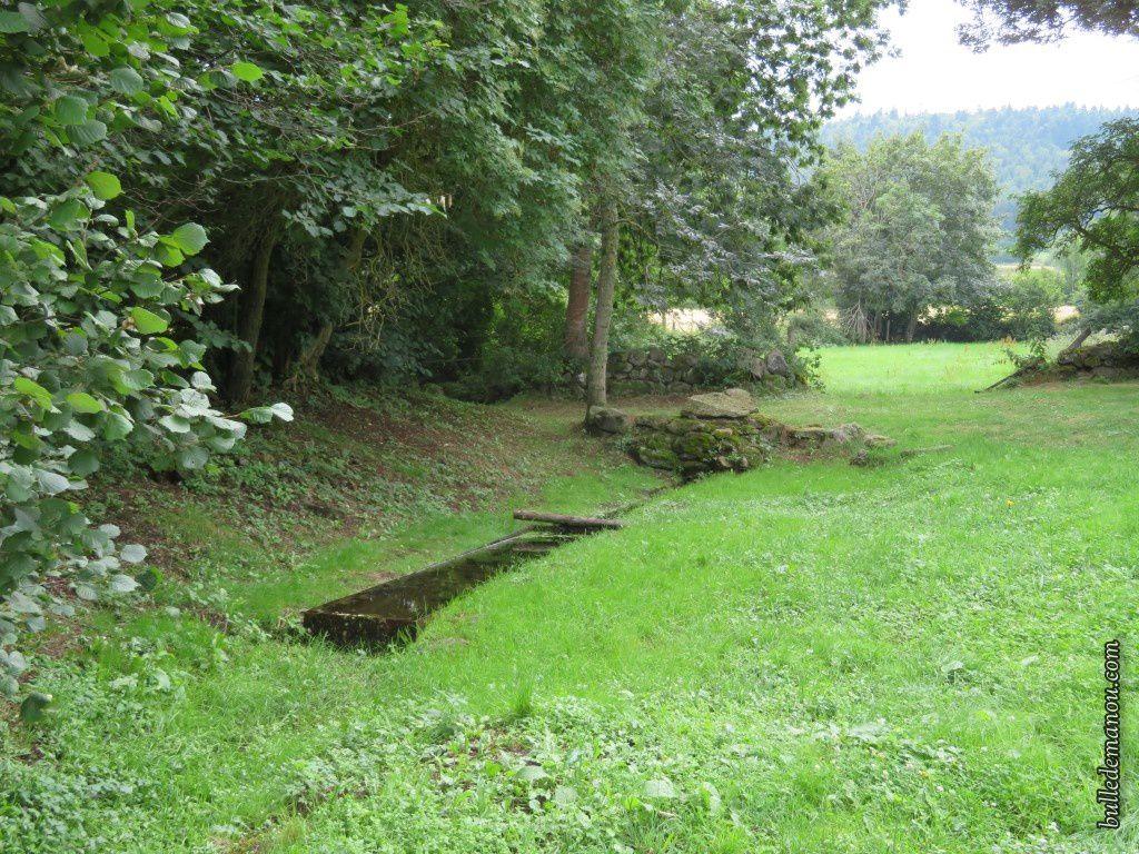 La fontaine du Couderc-Haut