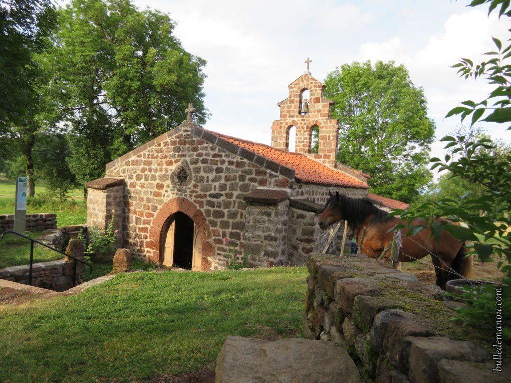 La chapelle Saint-Roch de Montbonnet (43)