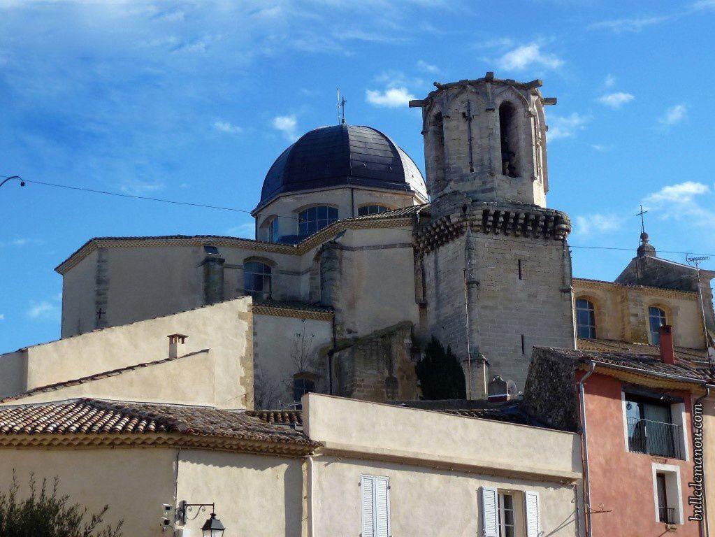 L'église vue du côté de l'avenue Badonviller