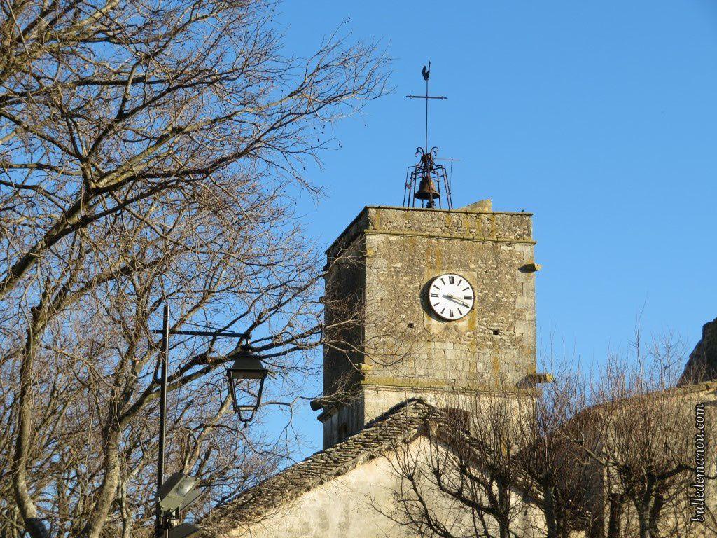 L'église romane Saint-Sebastian (la première photo a été prise du moulin)