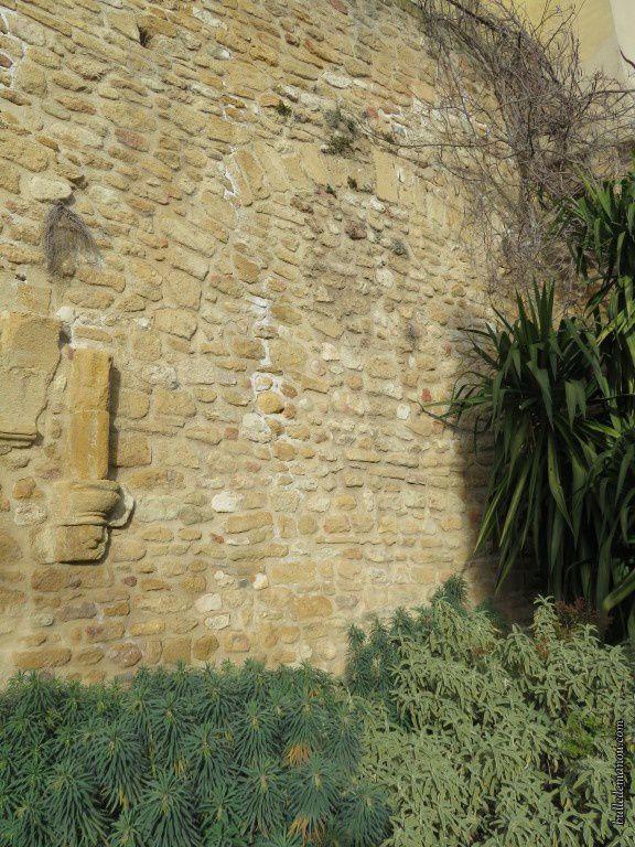 Les vestiges de la chapelle des Pénitents
