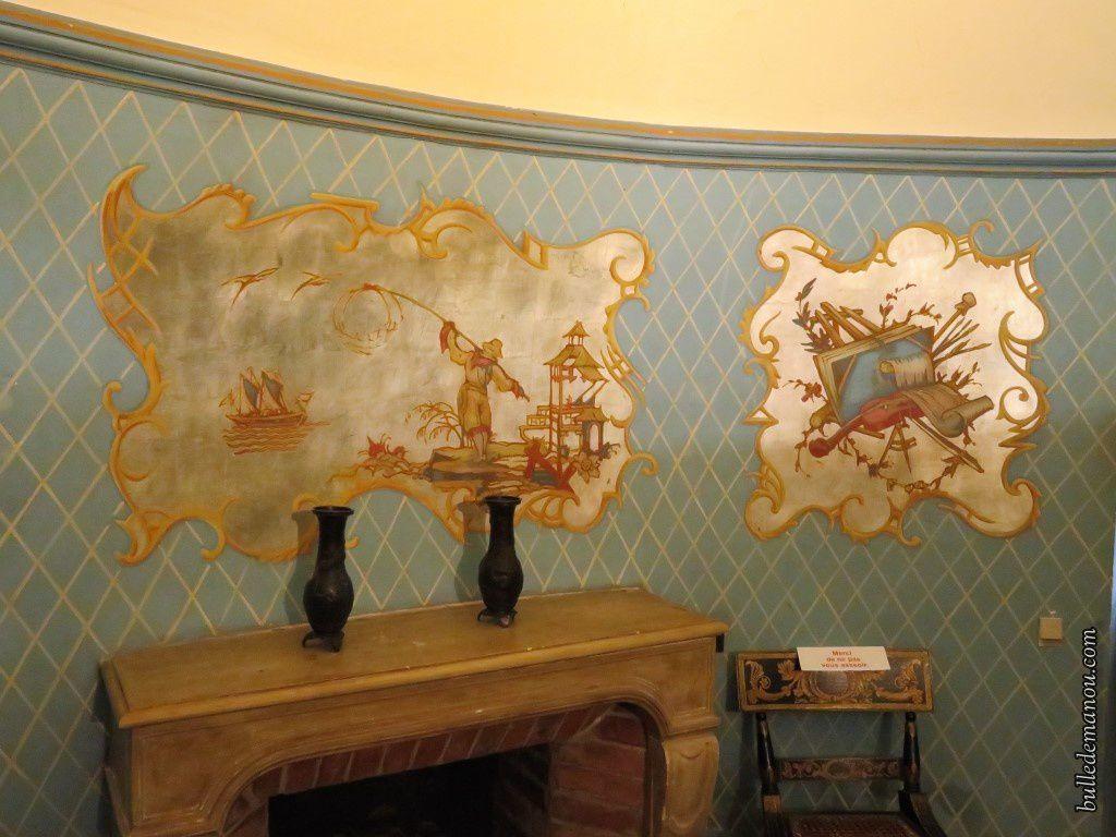 Les fresques ornant les murs...