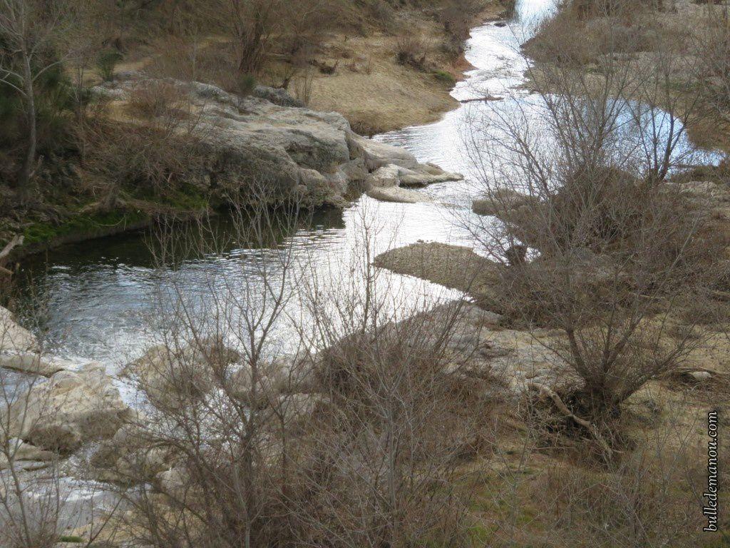 Le Calavon au niveau du Pont Julien