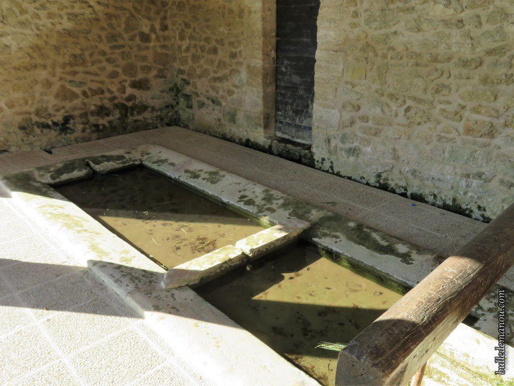 Les bassins et la barre d'égouttage