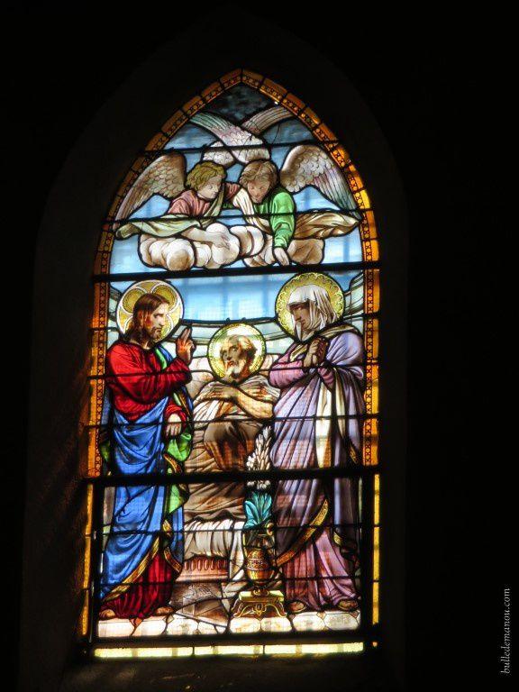 Les vitraux de l'église