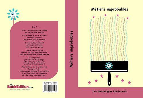 La couverture de la nouvelle anthologie