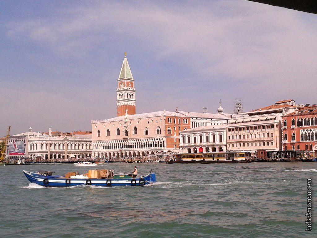 L'arrivée à Venise