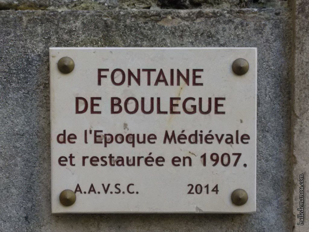 La fontaine de Boulègue