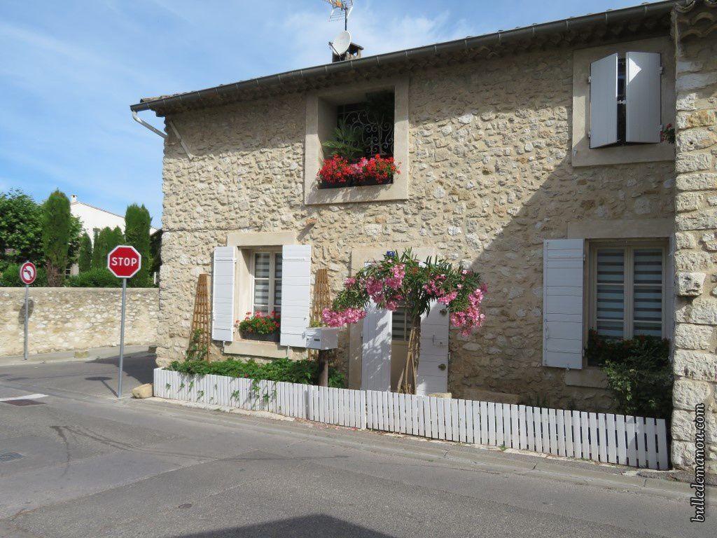 Une des jolies maisons du village