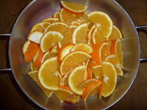 Oranges confites PAS à PAS...