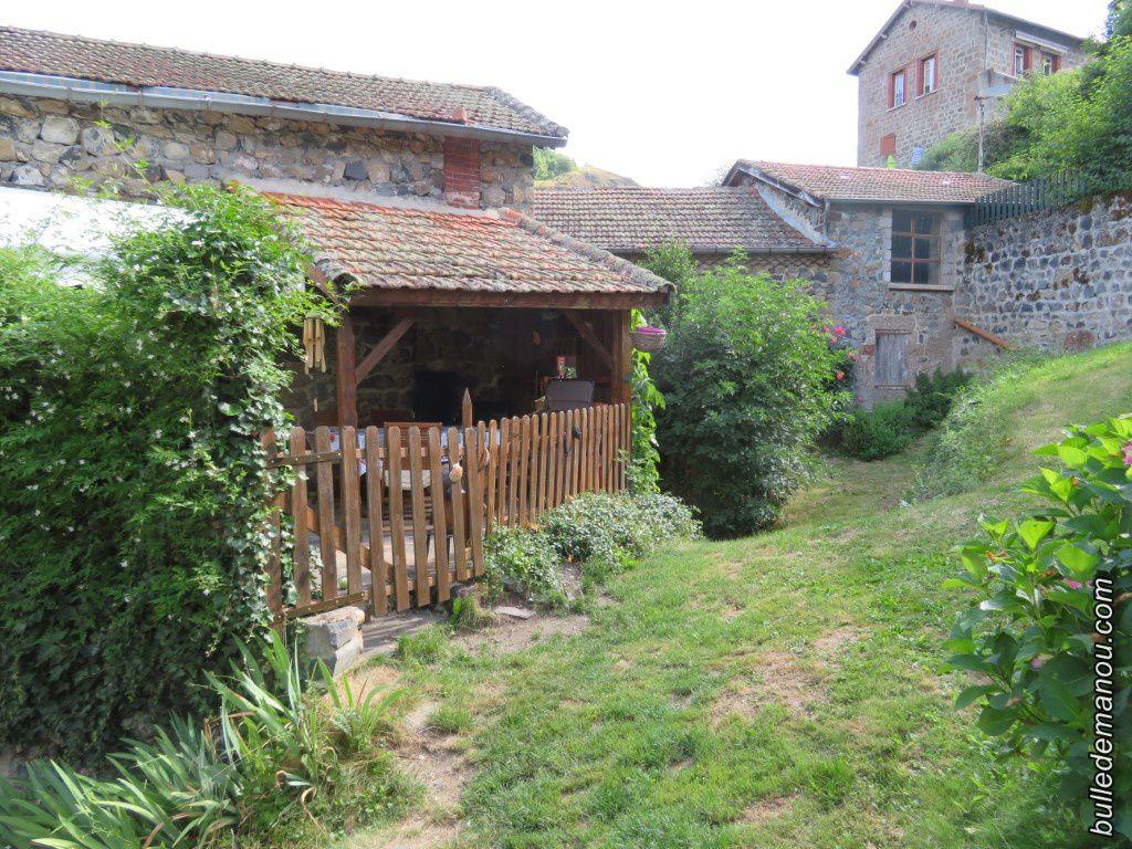 Quelques-unes des maisons typiques du bourg