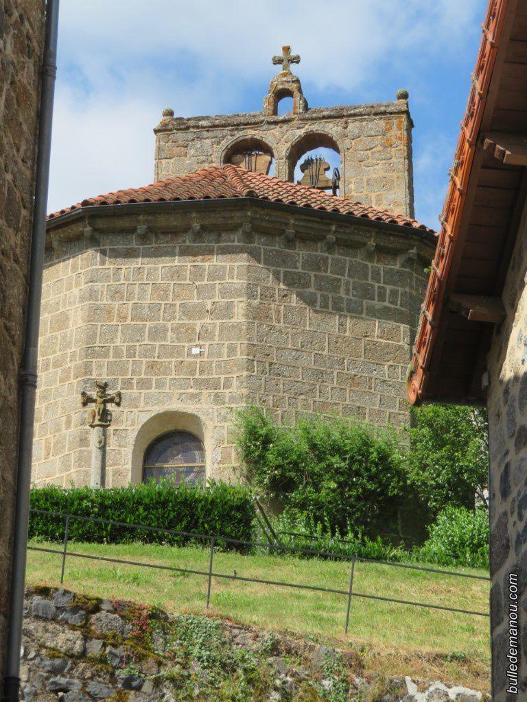 L'abside et le clocher à peigne (recto-verso)