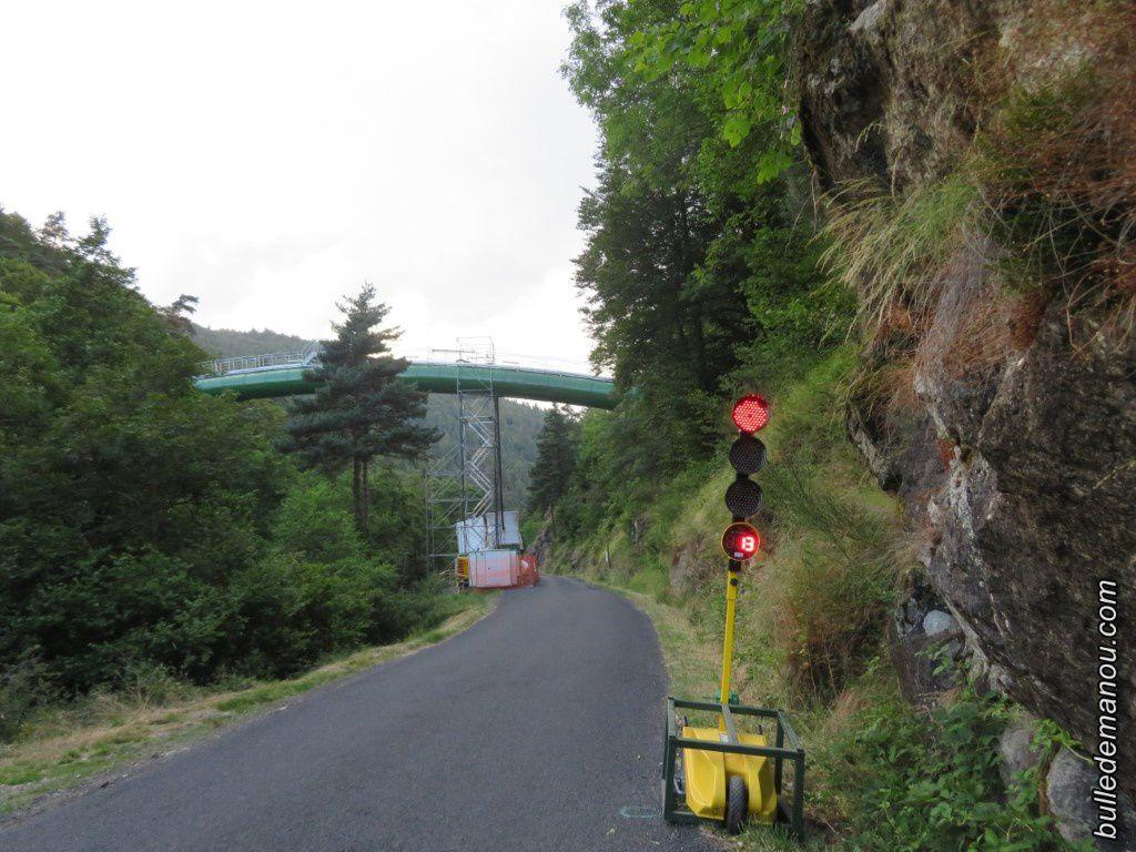 Le Pont siphon en travaux