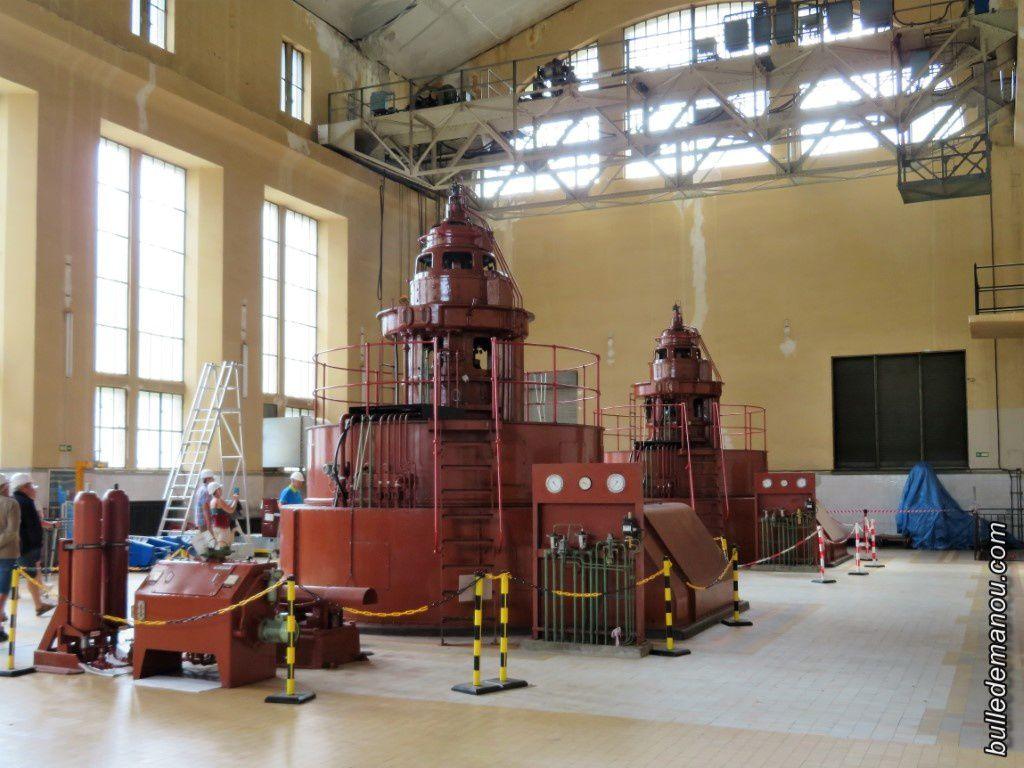 L'intérieur de l'usine