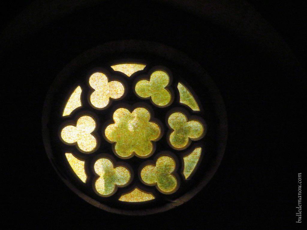La rosace et les fenêtres à lancettes