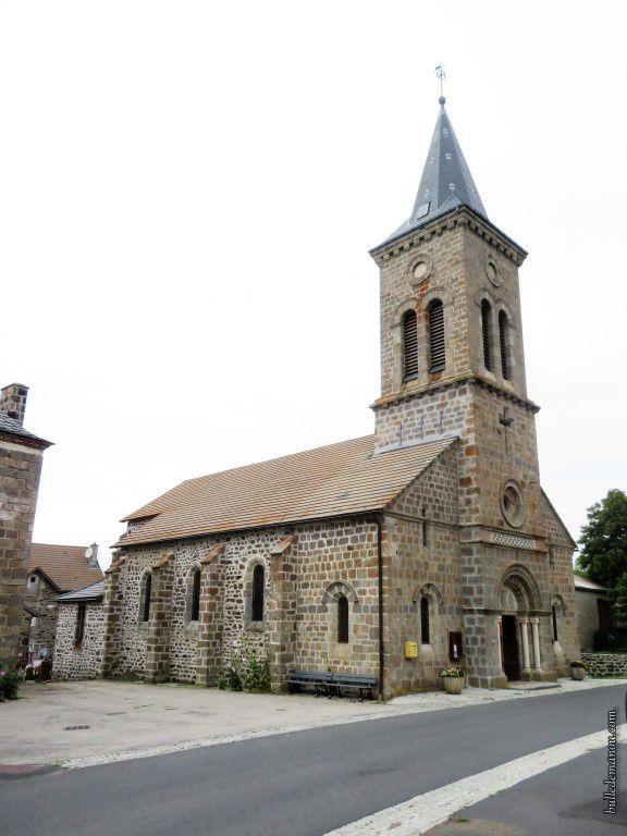 L'église Saint-Jean-Baptiste de Freycenet-la-cuche