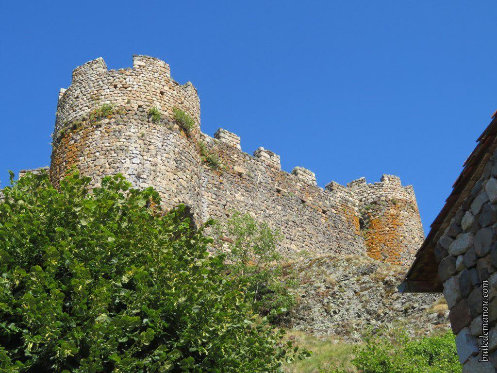 Le château est inaccessible...