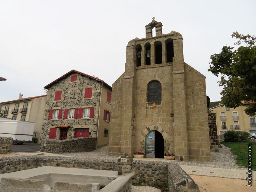 L'église Saint Jean-Baptiste du Monastier-sur-Gazeille (43)