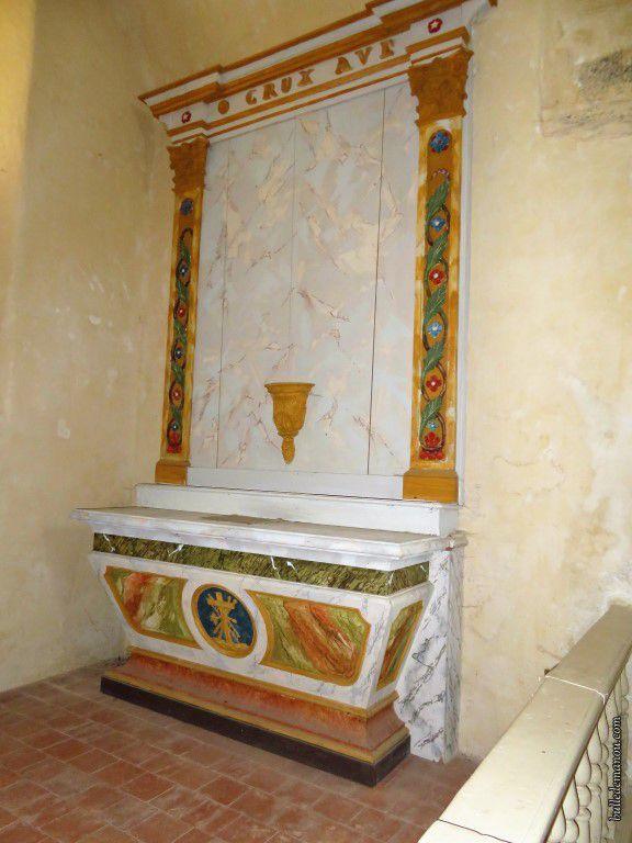 Une des chapelles.