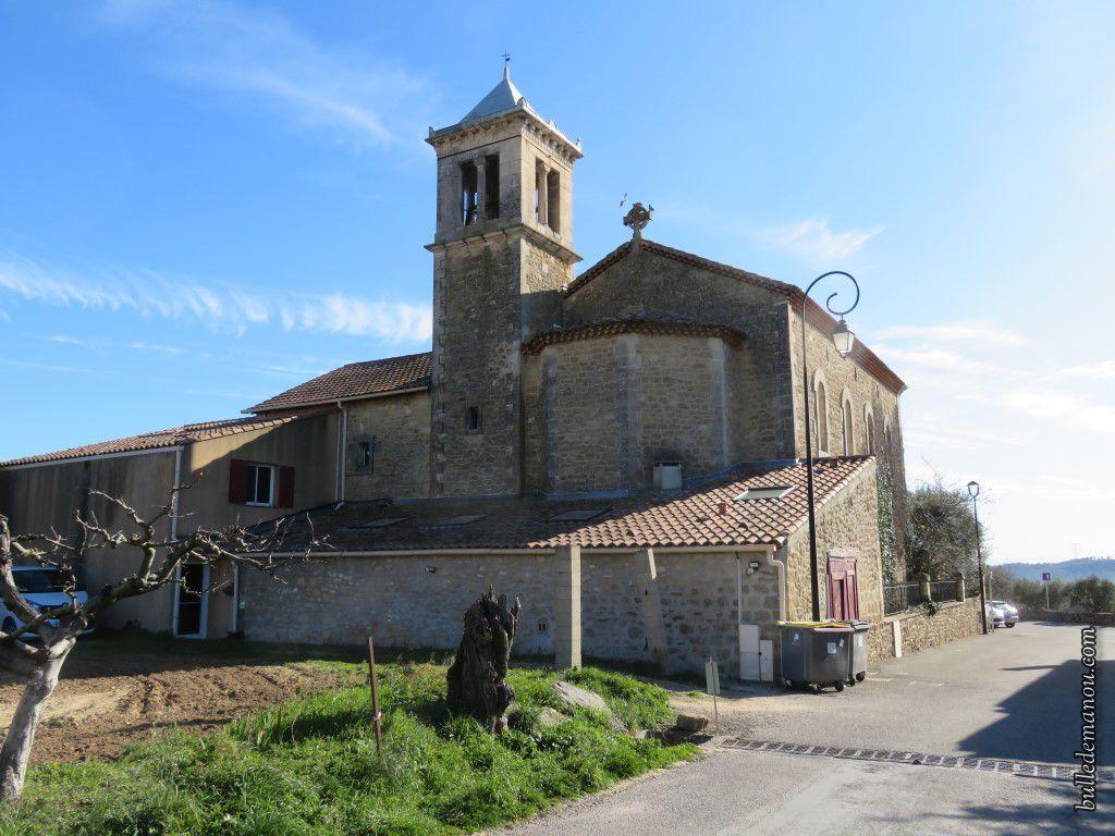 L'église Notre-Dame-de-Lourdes de Vernègues