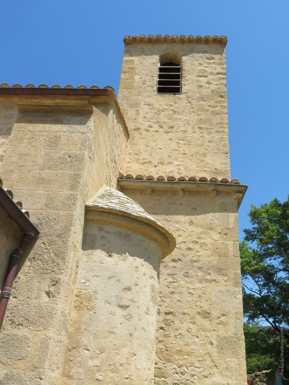 Le clocher rénové en 2002