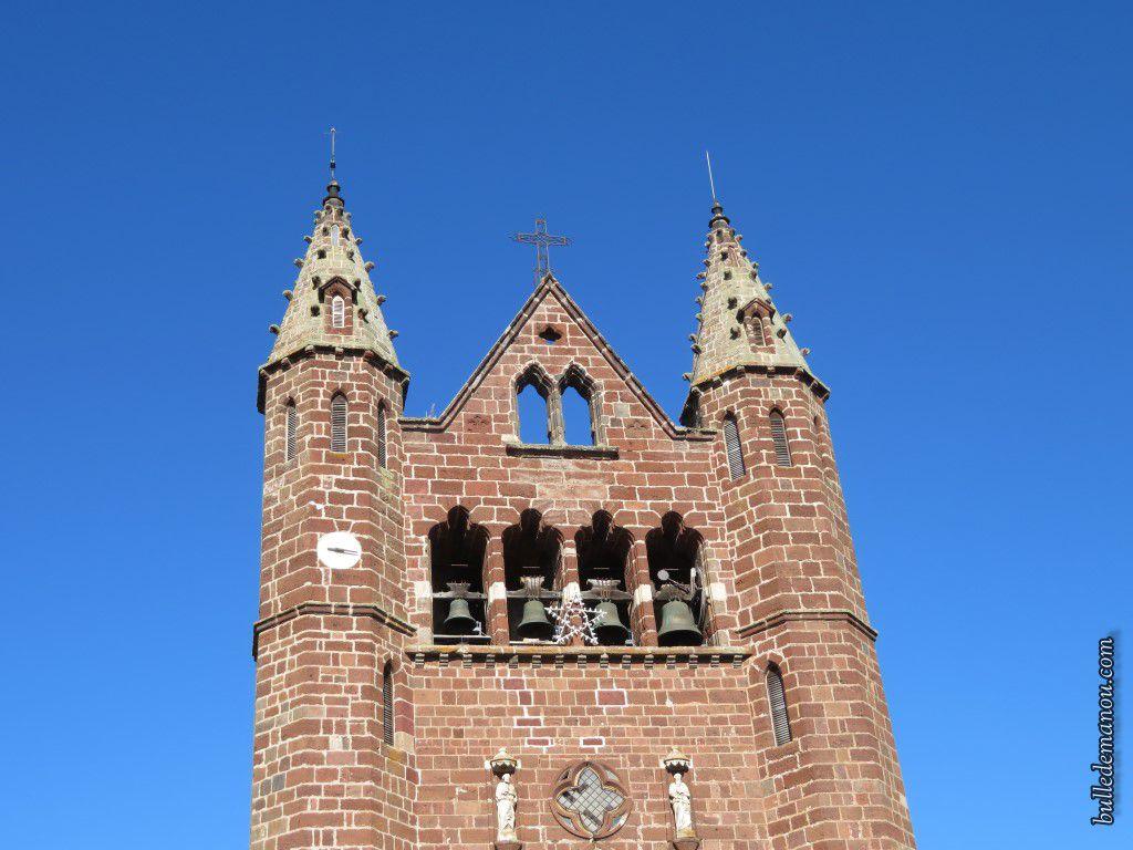 Le clocher à peigne