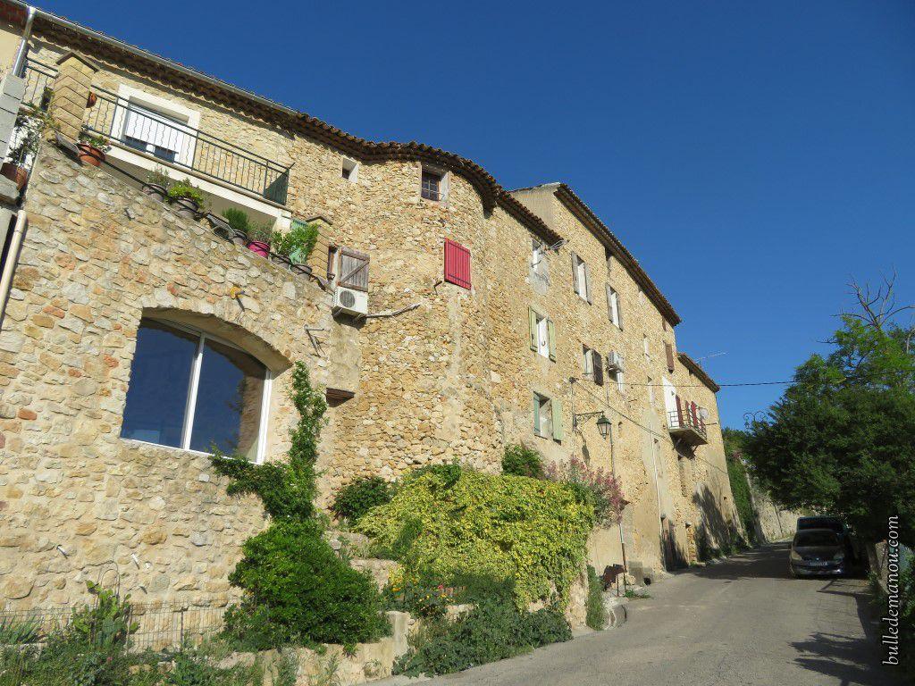 Quelques maisons dans les ruelles du village