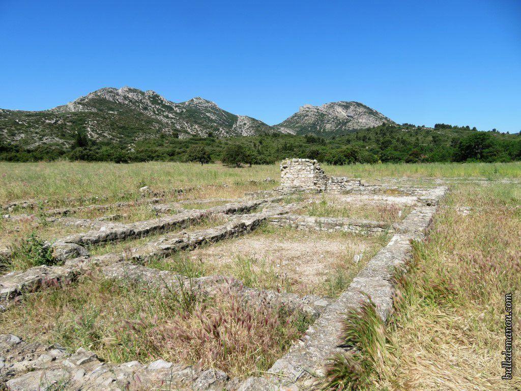 Le premier ensemble thermal de la villa Gallo-romaine de Saint-Pierre de Vence (13)