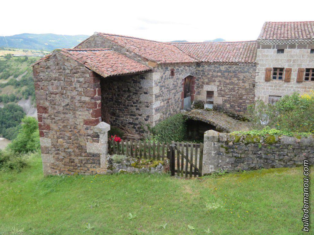 Les maisons du hameau