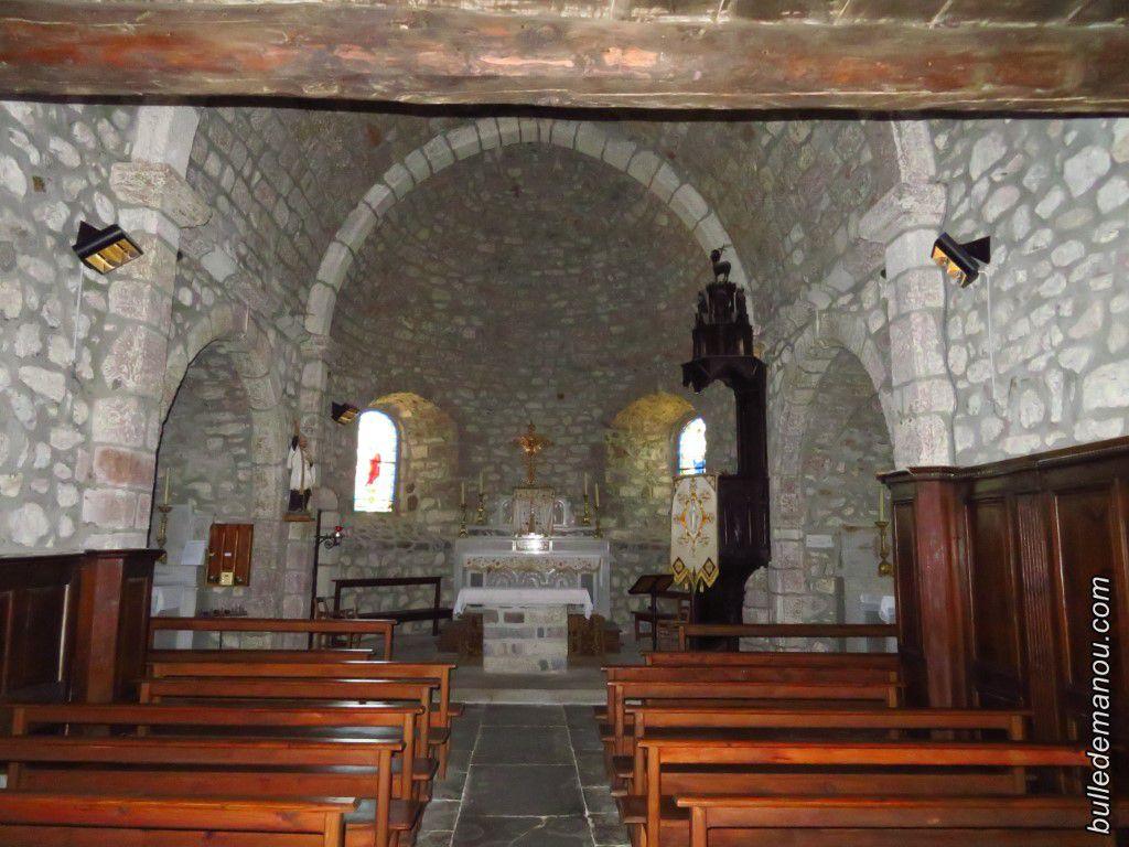 L'Eglise vue de l'intérieur