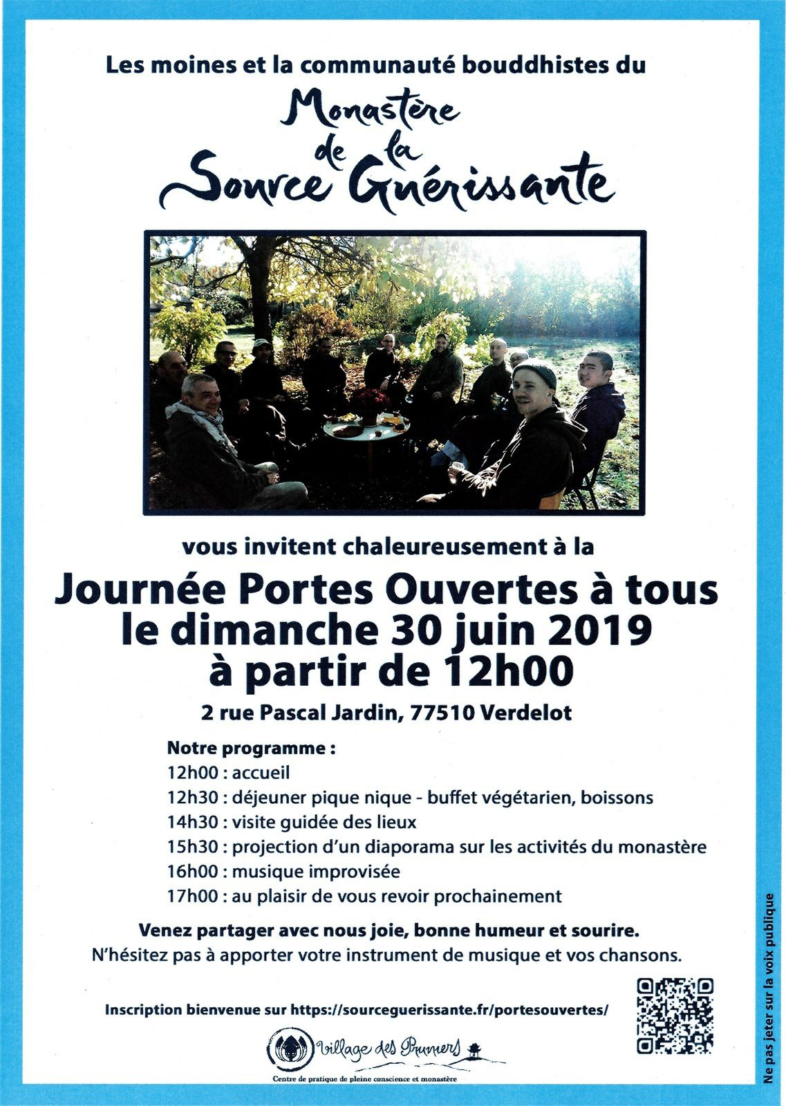 30 juin Open House Verdelot