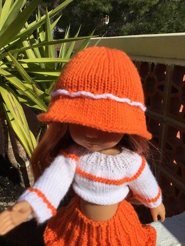 Jupe soleil et ses accessoires pour poupée chéries de corolle